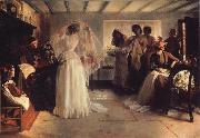 John H F Bacon The Wedding Morning oil painting
