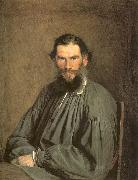 Kramskoy, Ivan Nikolaevich Portrait of the Writer Leo Tolstoy oil painting