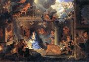 LE BRUN, Charles Adoration of the Shepherds oil painting