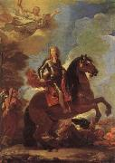 Luca Giordano Equestrian Portrait of Charles II oil painting