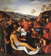 PERUGINO, Pietro The Lamentation over the Dead Christ oil painting reproduction