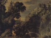 Paul Bril Landscape with Psyche and Jupiter oil painting reproduction