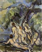 Paul Cezanne Baigneuses oil painting reproduction