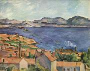 Paul Cezanne The Bay of Marseilles,seen from l'Estaque oil painting reproduction