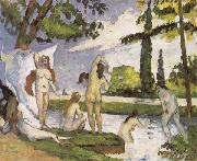 Paul Cezanne Bathers oil painting reproduction