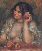 Pierre Renoir Gabrielle with a Rose oil painting reproduction