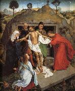 Rogier van der Weyden The Entombent oil painting reproduction