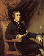 Sir Joshua Reynolds Portrait of James Bourdieu oil painting