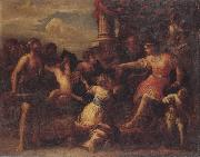 Stefano Magnasco The judgment of solomon oil painting reproduction