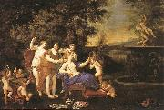 Albani  Francesco Venus Attended by Nymphs and Cupids oil painting