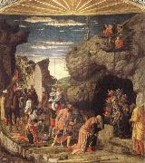 Andrea Mantegna Adoration of the Magi oil painting reproduction