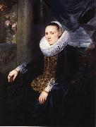 Anthony Van Dyck Margareta snyders oil painting reproduction