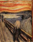 Edvard Munch The Scream oil painting