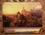 Emanuel Leutze Wastward the Course of the Empire Takes Its Way oil painting reproduction