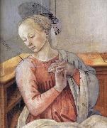 Fra Filippo Lippi Details of The Murals at Prato and Spoleto oil painting reproduction