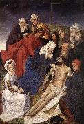 GOES, Hugo van der The Lamentation of Christ oil painting reproduction