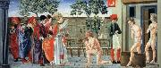 Giovanni di Francesco St Nicholas Resurrects Three Murdered Youths oil painting