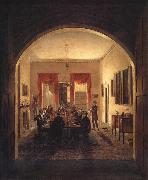 Henry Sargent The Dinner Party oil painting