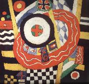 Marsden Hartley THe Iron Cross oil painting reproduction