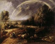 Peter Paul Rubens Landscape with Rainbow oil painting reproduction