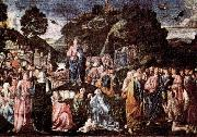 Piero di Cosimo Sermon on the Mount and Healing of the Leper oil painting