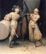 Pieter Bruegel The three soldiers oil painting