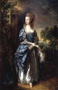 Thomas Gainsborough The hon.frances duncombe oil painting reproduction