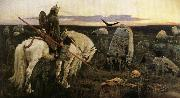 Viktor Vasnetsov The Paladin oil painting