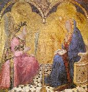 Ambrogio Lorenzetti Annunciation oil painting