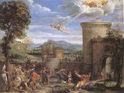 Annibale Carracci The Stoning of ST.Stephen (mk05) oil painting