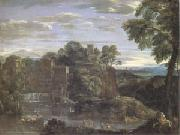 Domenichino Landscape with the Flight into Egypt (mk05) oil painting