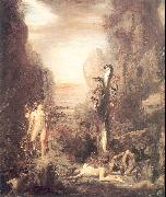 Gustave Moreau Hercules and the Lernaean Hydra oil painting