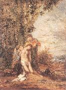 Gustave Moreau Saint Sebastian and the Holy Women oil painting