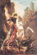 Gustave Moreau Saint George and the Dragon oil painting