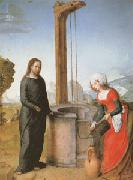 Juan de Flandes Christ and the Woman of Samaria (mk05) oil painting