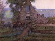 Piet Mondrian Solitary House oil painting