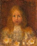 Piet Mondrian Little Girl oil painting