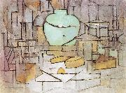 Piet Mondrian Still Life with Gingerpot II oil painting