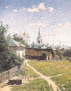 Polenov, Vasily Moscow Courtyard oil painting