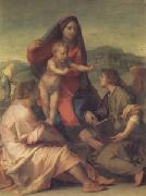 Andrea del Sarto The Madonna of the Stair (san05) oil painting reproduction