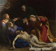 Annibale Carracci The Lamentation of Christ (mk08) oil painting reproduction