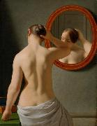 Christoffer Wilhelm Eckersberg Nude (Morning Toilette) (mk09) oil painting