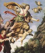 Domenichino The Assumption of Mary Magdalen into Heaven (mk08) oil painting