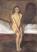 Edvard Munch Puberty (mk09) oil painting
