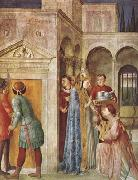 Fra Angelico St Lawrence Receiving the Church Treasures (mk08) oil painting