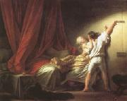 Jean Honore Fragonard The Bolt (mk05) oil painting reproduction