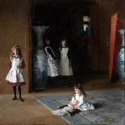 John Singer Sargent The Daughters of Edward Darley Boit (mk09) oil painting reproduction