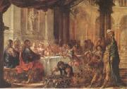 Juan de Valdes Leal The Marriage at Cana (mk05) oil painting reproduction
