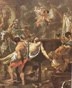 LE BRUN, Charles The Martyrdom of St John the Evangelist at the Porta Latina (mk08) oil painting