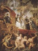 Peter Paul Rubens The Landing of Marie de'Medici at Marseilles (mk080 oil painting reproduction